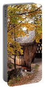 New England College No. 63 Covered Bridge  Portable Battery Charger