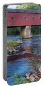 New England Covered Bridge Connecticut Portable Battery Charger