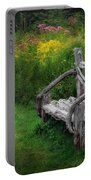 New England Summer Rustic Portable Battery Charger