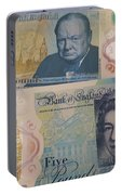New Five Pound Notes Portable Battery Charger
