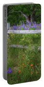 New Hampshire Wildflowers Portable Battery Charger