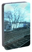 New Jersey From The Train 4 Portable Battery Charger