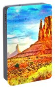 New Mexico Beautiful Desert - Pa Portable Battery Charger