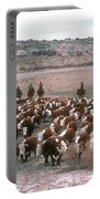 New Mexico Cattle Drive Portable Battery Charger