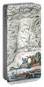 New Netherland Map Portable Battery Charger