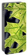 New Oak Leaves    Portable Battery Charger