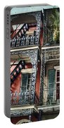 New Orleans Balconies No. 4 Portable Battery Charger