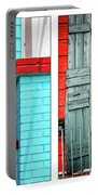 New Orleans Doorways Diptych One Portable Battery Charger