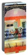 New Orleans French Quarter Balcony Portable Battery Charger