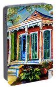 New Orleans Plain And Fancy Portable Battery Charger