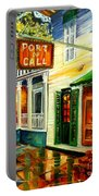 New Orleans Port Of Call Portable Battery Charger