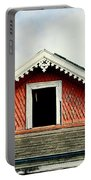 New Orleans Rooftop Architecture Fish Scales And Gingerbread Portable Battery Charger