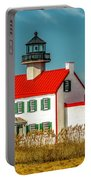 New Paint On East Point Lighthouse Portable Battery Charger