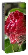 New Red Hibiscus Portable Battery Charger