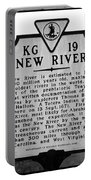 New River Historical Marker Portable Battery Charger
