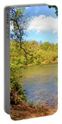 New River Views - Bisset Park - Radford Virginia Portable Battery Charger
