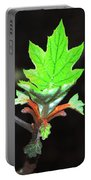 New Spring Leaf Portable Battery Charger