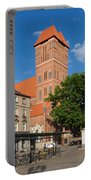 New Town Square In Torun Portable Battery Charger