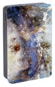 Art Blue Metal 58 Portable Battery Charger