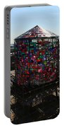Stained Glass Water Tower In Milwaukee Portable Battery Charger