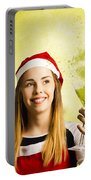 New Year Christmas Party Portable Battery Charger