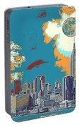 New York America  Skyline - Manhattan Portable Battery Charger
