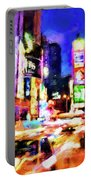 New York At Night - 15 Portable Battery Charger