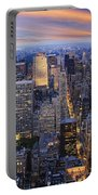 New York At Night Portable Battery Charger