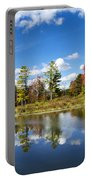 New York Autumn Landscape Portable Battery Charger