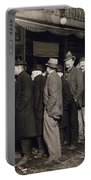 New York: Bread Line, 1907 Portable Battery Charger