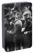 New York: Bread Line, 1915 Portable Battery Charger