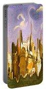 New York City 2200 - Modern Art Portable Battery Charger