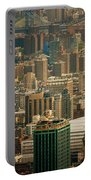 New York City Buildings And Skyline Portable Battery Charger