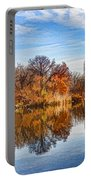 New York City Central Park Bow Bridge - Impressions Of Manhattan Portable Battery Charger