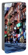 New York City Chinatown Portable Battery Charger