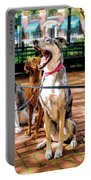 New York City Dog Walking Portable Battery Charger