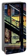 New York City Elevated Subway Stairs Portable Battery Charger