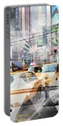 New York City Geometric Mix No. 9 Portable Battery Charger