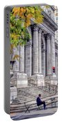 New York City Public Library Portable Battery Charger