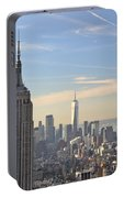 New York City Skyline Portable Battery Charger