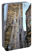 New York City St. Patrick's Cathedral Portable Battery Charger