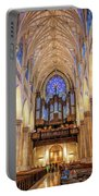 New York City St Patrick's Cathedral Organ Portable Battery Charger
