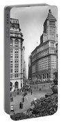New York City Street Scene Portable Battery Charger