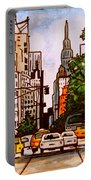 New York City Taxis Portable Battery Charger
