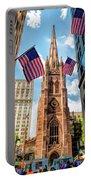 New York City Trinity Church Portable Battery Charger