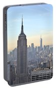 New York Empire State Building Portable Battery Charger