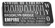 New York Famous Landmarks Portable Battery Charger