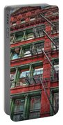 New York Fire Escapes Portable Battery Charger