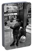 New York, New York 3 Portable Battery Charger