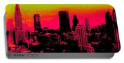 New York Pink Portable Battery Charger